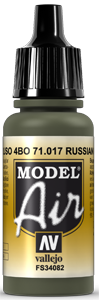017 Russian Green, 17 ml