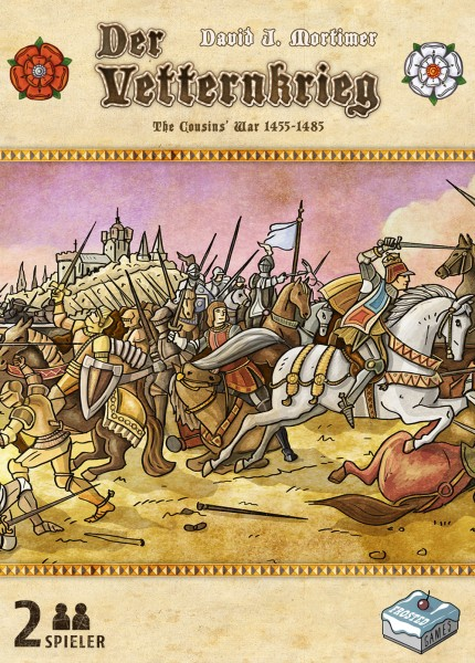 Der Vetternkrieg – The Cousins' War 1455 - 1485