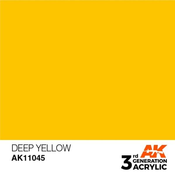 Deep Yellow - Intense