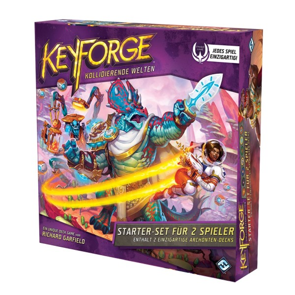 Keyforge - Kollidierende Welten Starter