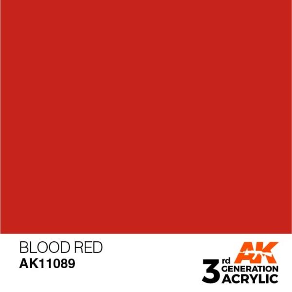 Blood Red - Standard