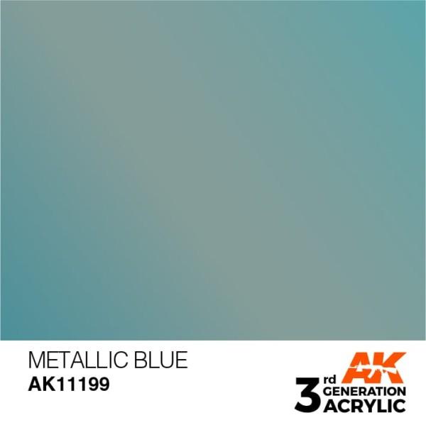 Metallic Blue - Metallic