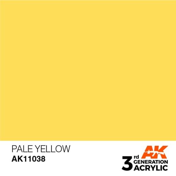 Pale Yellow - Standard
