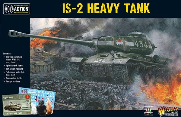 Plastic IS-2 Heavy Tank