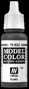 150 Schwarzbraune Tarnung (Ger. Camo Black Brown)