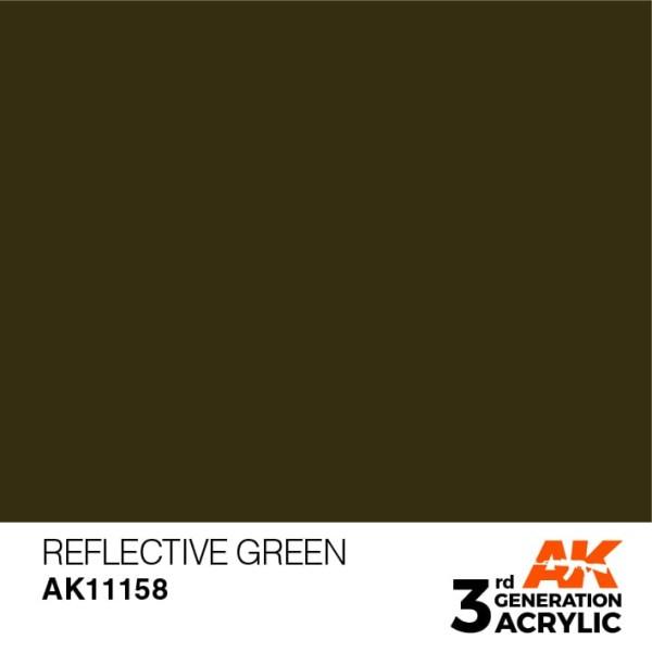 Reflective Green - Standard