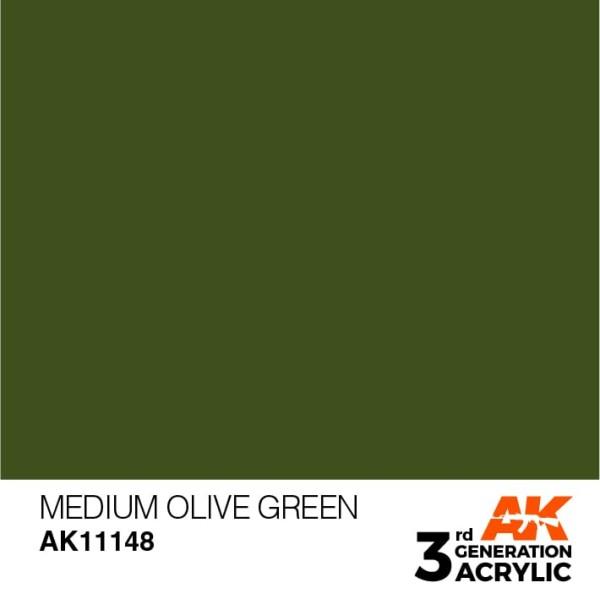 Medium Olive Green - Standard