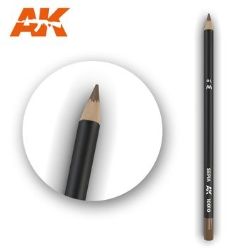 Weathering Pencil Sepia