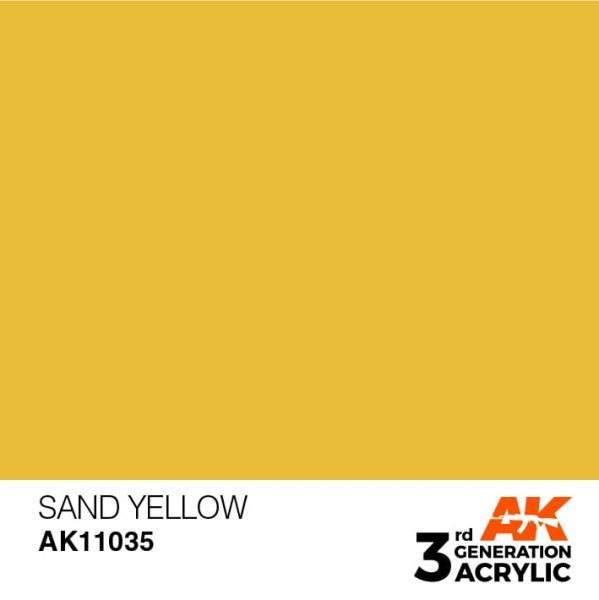 Sand Yellow - Standard