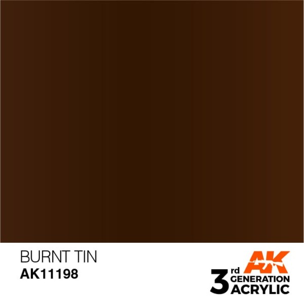 Burnt Tin - Metallic