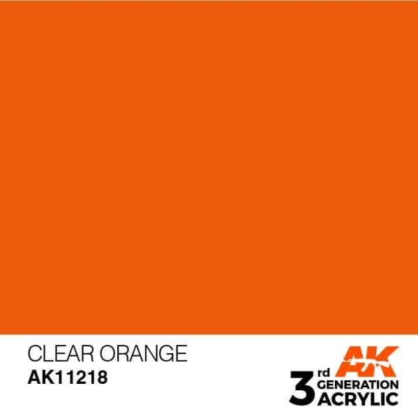 Clear Orange - Standard