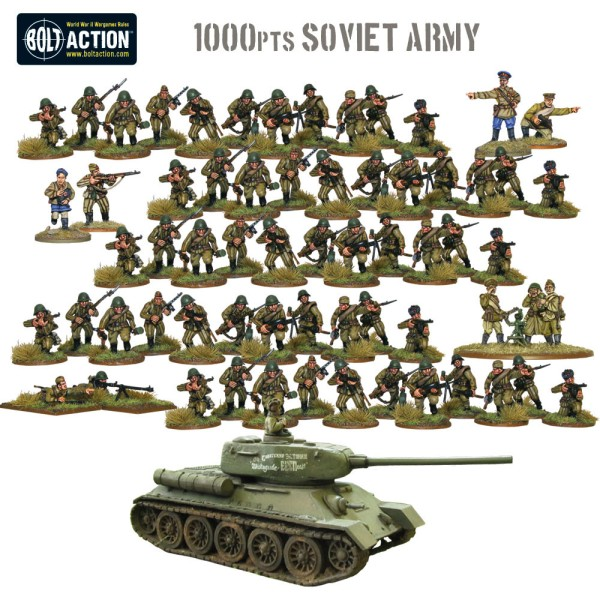 1,000pt Soviet Army starter army