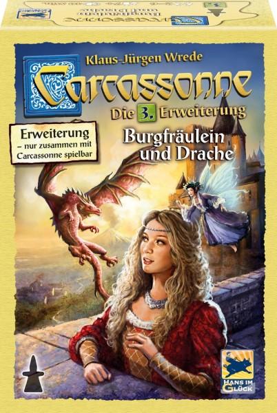 Carcassonne: Burgfräulein & Drache