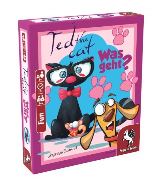 Ted the Cat - Was geht? (Bierdeckelspiel)