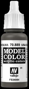 091 Olivbraun (USA Olive Drab)