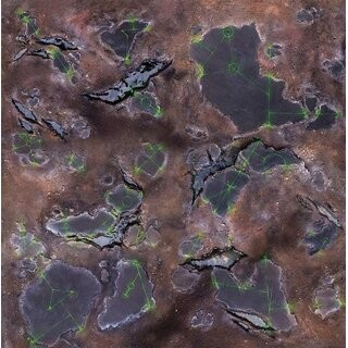 Alien Wasteland 4x4 Gaming Mat 2.0