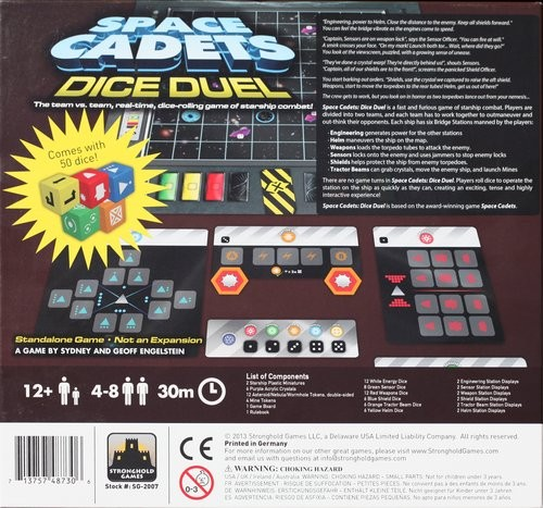 Space Cadets: Dice Duel ENGLISCH