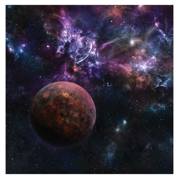 Space Sector 6 3x3 Gaming Mat (Variante B)