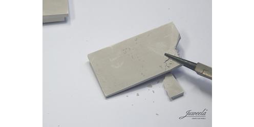 Stahlbetonplatte mit Stahl