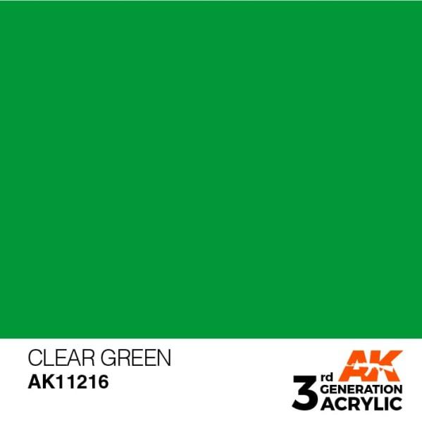 Clear Green - Standard
