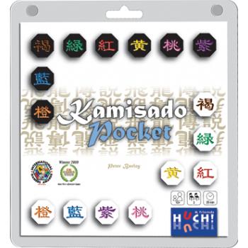 Kamisado Pocket - DE/EN/FR/NL/TR