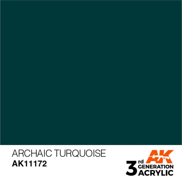 Archaic Turquoise - Standard