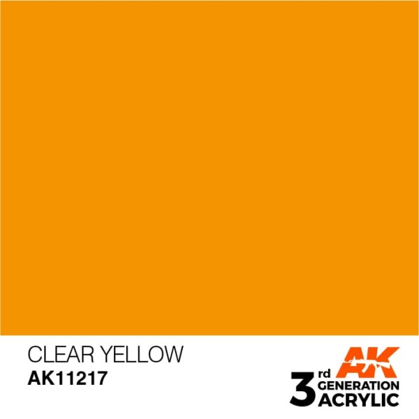 Clear Yellow - Standard