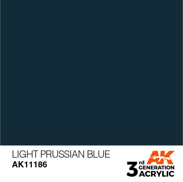 Light Prussian Blue - Standard