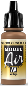 037 Mud Brown, 17 ml