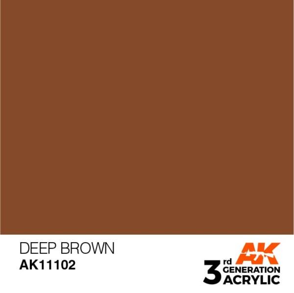 Deep Brown - Intense