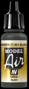 021 Black Green, 17 ml