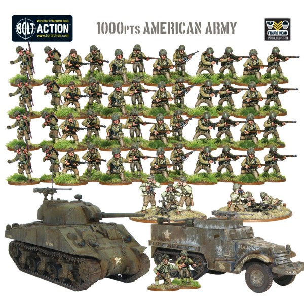 1000pts American Army