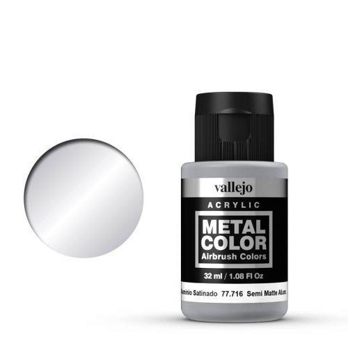 Vallejo Metal Color 716 Semi Matte Aluminium 32 ml.