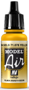 078 Gold Yellow, 17 ml