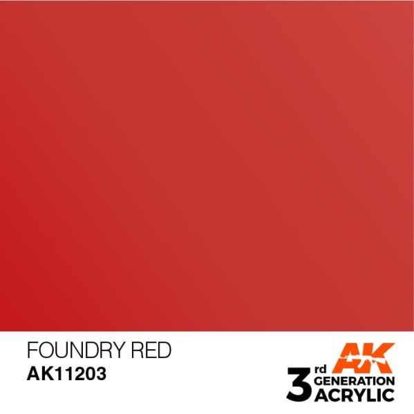 Foundry Red - Metallic