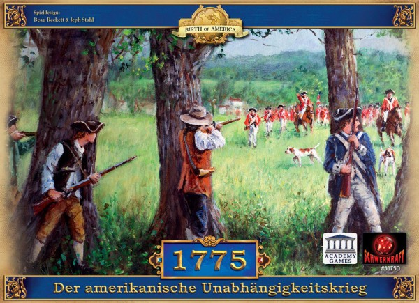 1775 - Der amerikanische Unabhängigkeitskrieg