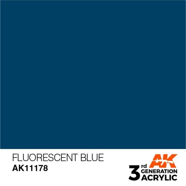 Fluorescent Blue - Standard