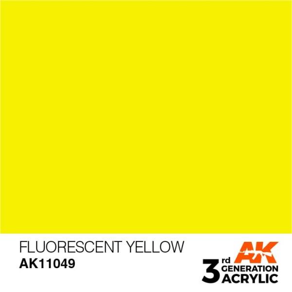 Fluorescent Yellow - Standard