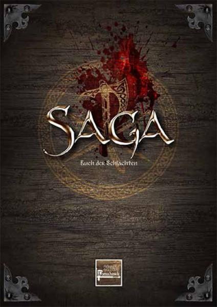 SAGA Buch der Schlachten inklusive Gratis Kartenset