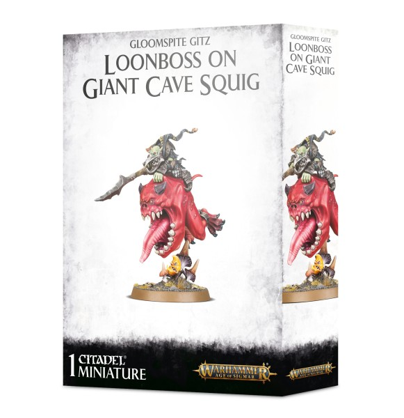 Loonboss auf Giant Cave Squig