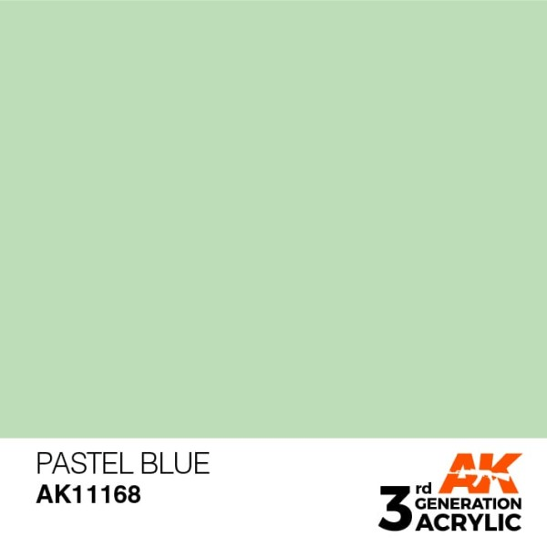 Pastel Blue - Pastel