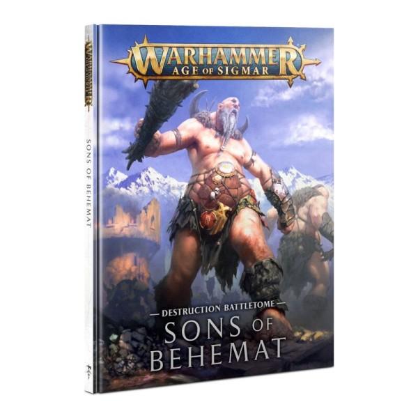 Battletome Sons of Behemat DE