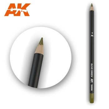 Weathering Pencil Olive Green