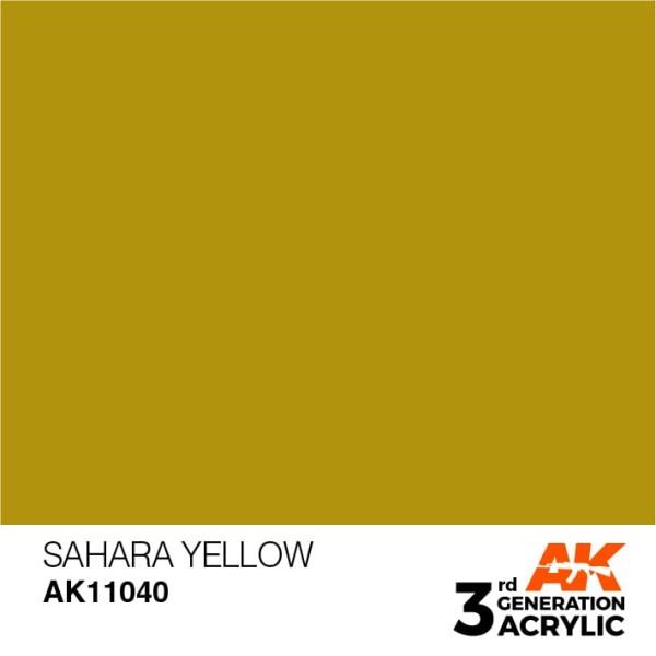 Sahara Yellow - Standard