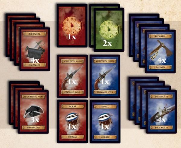 Redcoats & Tomahawks Card Deck
