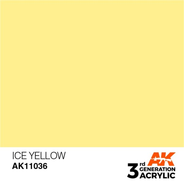 Ice Yellow - Standard