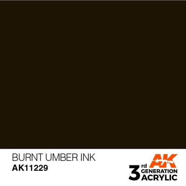 Burnt Umber - Ink