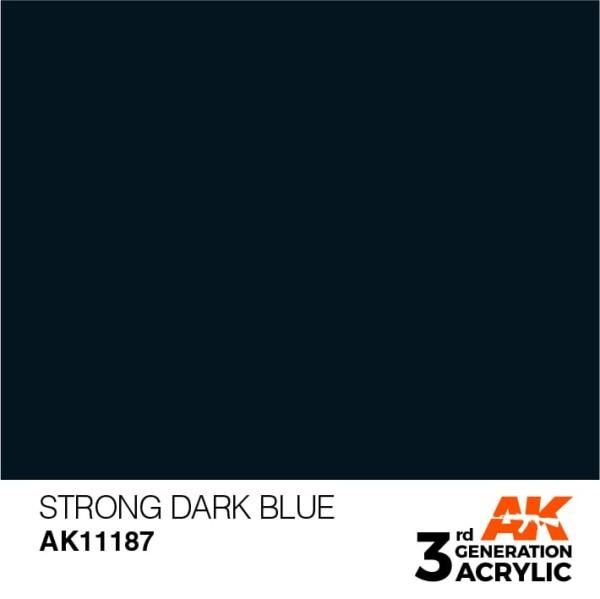 Strong Dark Blue - Standard