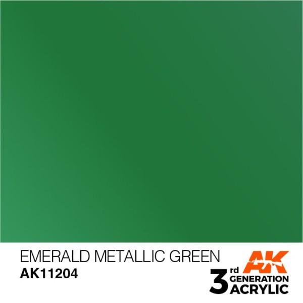 Emerald Metallic Green - Metallic