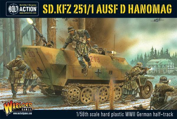 Sd.Kfz 251/1 ausf D halftrack